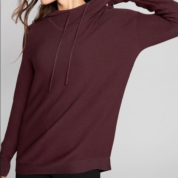 41a92184180e93 Athleta Sweaters - Athleta Daybreak Hoodie Sweater size XS Cassis